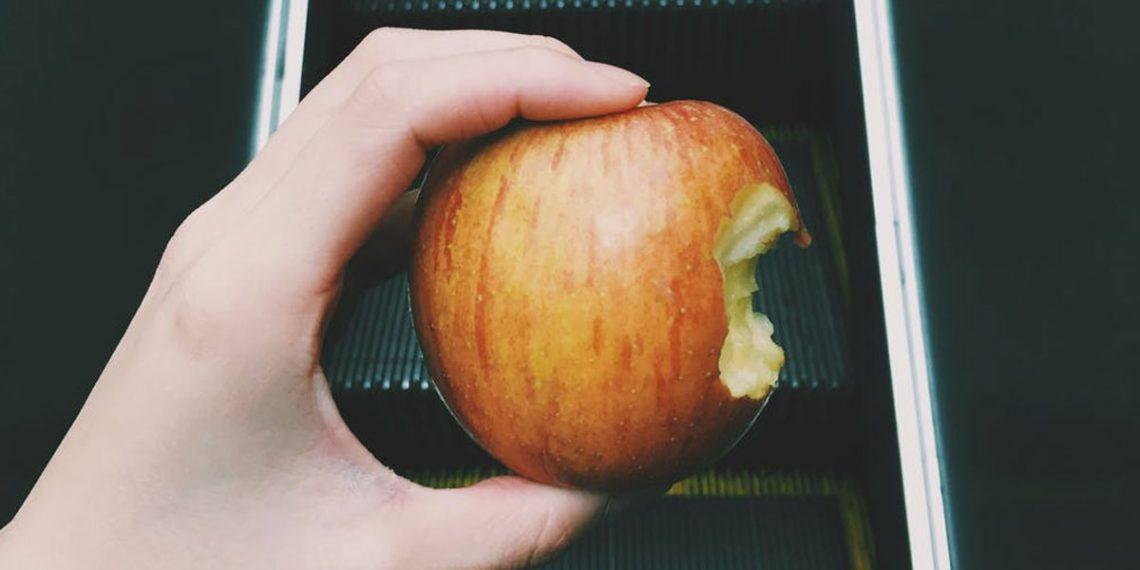 Don't bite my apple
