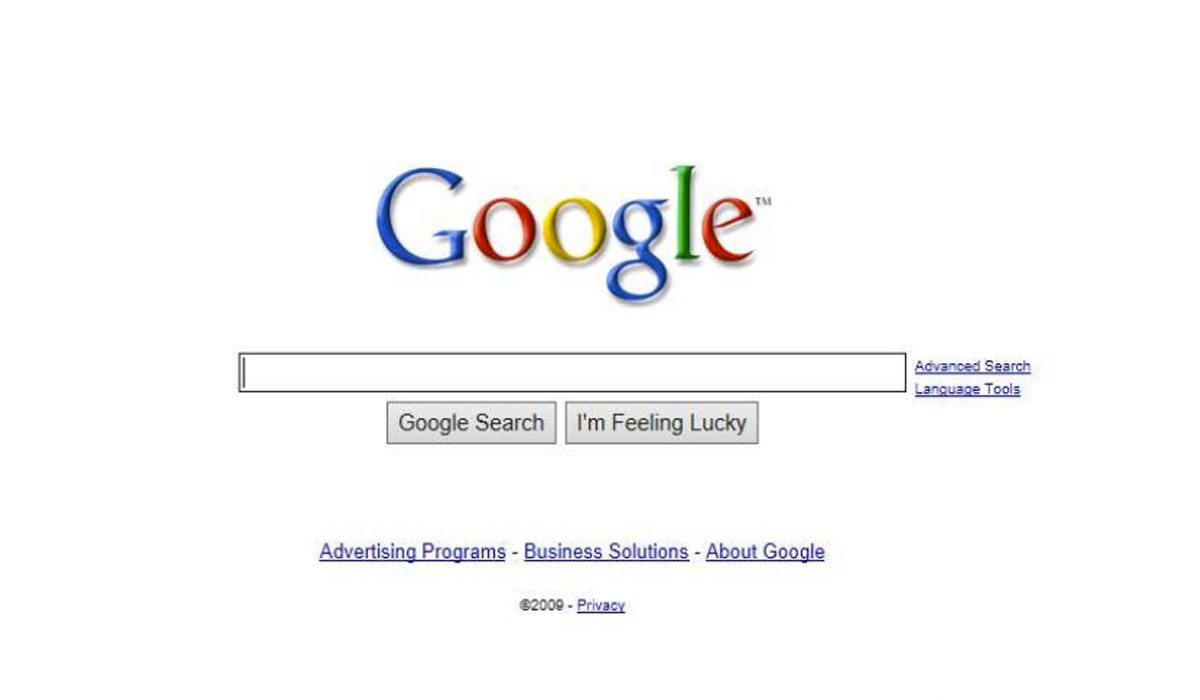 Google receives patent for its home page