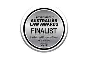 Baxter IP, a finalist in the 19th Australian Law Awards