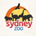 Logos of 3 zoos in Sydney
