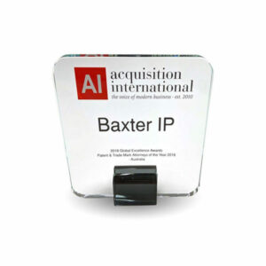 AI Acquisition International-全球卓越奖:年度专利和商标律师(澳大利亚)