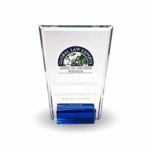 全球法律专家年度奖:年度软件专利知识产权律师事务所(澳大利亚)