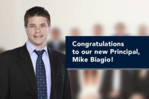 Congratulations to our new Principal: Mike Biagio!